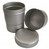 Metal Container With Sieve - 65 x 80 mm
