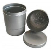 Metal Container With Sieve - 90 x 110 mm