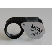 """MDM Extra"" Triplet lens - 10X Rubbered"
