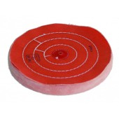 0876B-3 Orange Cloth Discs With Seams