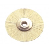 Wheel Brush White Bristle - ø 22 mm