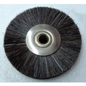 Wheel Brushes Black Bristle - ø 22 mm